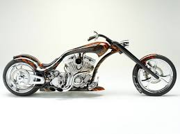 drawn motorcycle custom chopper pencil and in color drawn