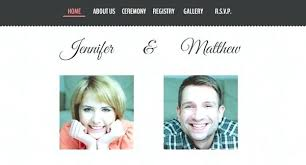 Wedding Website Template Enchanting Wedding Invitations Websites Wedding Website Email Wedding