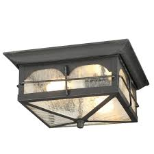 Home Decorators Collection Black Outdoor Seeded Glass Dusk To Dawn Home Decorators Collection Lighting