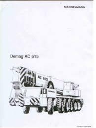 Demag Ac 615 Specifications Cranemarket