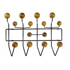 Wire Coat Rack New Buy Vitra Hang It All Coat Rack Chocolate Wire Walnut By Charles