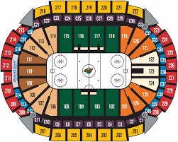 Verizon Center Seating Chart For Hockey 41 Symbolic Xcel Hockey Seating
