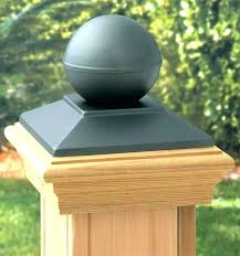 Bed Post Bed Post Toppers Round Fence Caps Wood Cap The Best ...