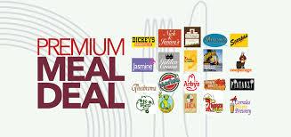 premium meal deal restaurant banner picture