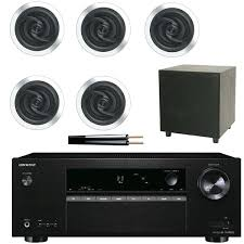 in ceiling surround sound system surround sound amp with ceiling speakers speaker cable 51 ceiling mount