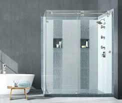 slide shower door this sliding glass shower doors wont slide rv triple slide shower door