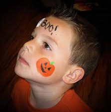 Easy Halloween Face Painting Designs Easy Halloween Cheek Painting Halloween Face Painting