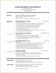 Simple Resume Template Word Elegant Free Basic Resume Templates