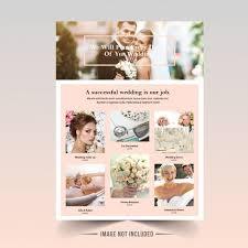 Wedding Flyer Template Vector | Premium Download