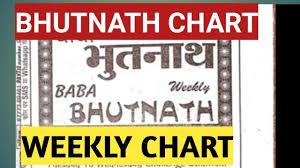 Bhutnath Chart 22 04 2019 Kalyan Mumbai Weekly Chart