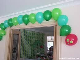 birthday decoration with balloons at home image inspiration of