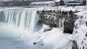 niagara falls is a por summer attraction but it can be a spectacular scene in