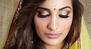 indian asian bridal hair makeup artist in london and kent rouge makeup