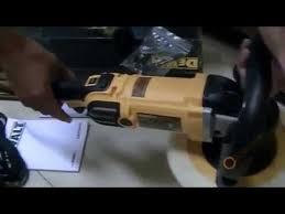 dewalt variable speed polisher. tool test dewalt dwp849x-gb premium variable speed polisher dewalt