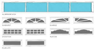 exterior garage door inserts creative on throughout to inside regarding window idea 17
