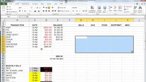 finances excel the basics of microsoft excel how to create a budget and manage