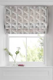 roman blinds. Interesting Blinds Optical Geo Jacquard Roman Blind And Blinds N