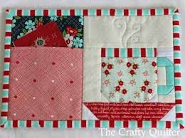 Mug Rug Patterns Fascinating Clever Pocket Mug Rug Is A Great Gift For Any Occasion Quilting Digest