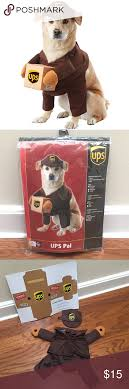 Ups Dog Costume Size Chart Ups Dog Costume Brand New In The Package Hilarious Ups Dog