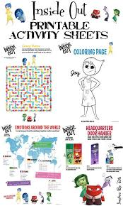 Small Picture Inside Out Free Printable Activities and Recipes Free printable