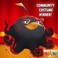 Angry Birds POP - Community Costume Winner: Bomb...