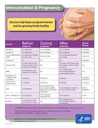 Cdc Immunization Chart Fillable Online Cdc Immunization And Pregnancy Vaccines