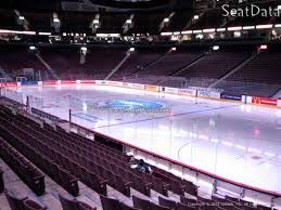 Vancouver Canucks Seating Chart View Rogers Arena Section 115 Vancouver Canucks Rateyourseats Com