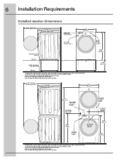 electrolux stackable washer and dryer. stackable washer and dryer closet dimensions \u2013 google search. installation instructions (all languages) electrolux