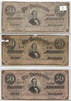 Confederate Money Value Chart Collectors Com Currency Confederate Notes 1864 Issues