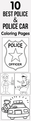Coloring Pages Free Police Safety Coloringoks By Mailfree Mailkids