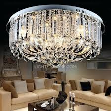 semi flush crystal chandelier semi flush chandelier crystal french empire