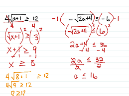 most viewed thumbnail solving radical equations and inequalities