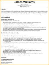6 Medical Assistant Resume Samples Essay Checklist Assistants Best