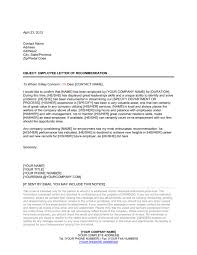 employee reference letters templates   letter of reference long
