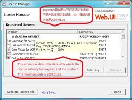 com Products It610 Componentart All Key License For 开源软件 - Generator