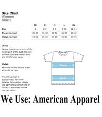 American Apparel T Shirt Sizing Chart Agbu Hye Geen