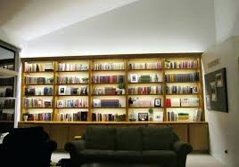 library bookcase lighting bookcases regarding well known inspired led modern living room g81 bookcase