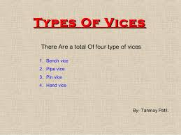 6Types Of Bench Vises