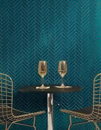 Light Blue Herringbone Tile Akdo Tile Herringbone In Lagoon Tile Wall Blue Tile