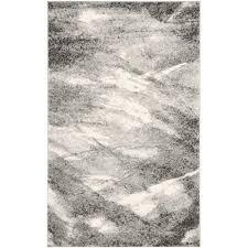 safavieh retro contemporary 10 x 14 square area rug grey only