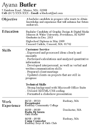 Regular Resume by Blackcat514 ...