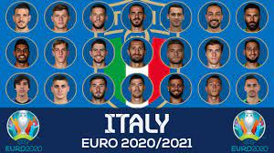 Italy Squad Euro 2021 Qualifiers - YouTube