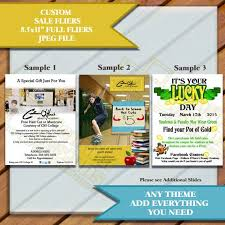 Advertising Flyers Samples Sale Or Advertisement Marketing Flyers Sample And Custom