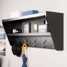 Coat Rack And Shelf Adorable WallMounted Coat Racks Entryway Furniture The Home Depot