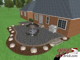 landscape patios. Brick Patio Design Bruce Twp MI Landscape Patios