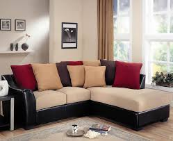 sectional sofas for small spaces brown leather sectional sofa large grey