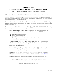 letters of recommendation for scholarship cover letter letters of recommendation for scholarship