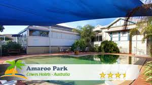 Allan Cunningham Motel Amaroo Park Cowes Hotels Australia Youtube