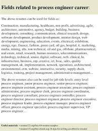 Process Engineer Resume Process Engineer Resume Template