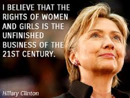 Womens Rights Quotes Interesting Hillary Clinton Quotes On Womens Rights WeNeedFun